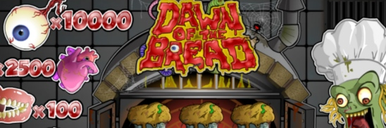 Online-lotten Dawn of the Bread från Microgaming